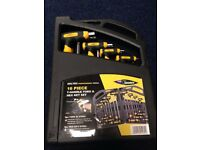 T Handle Torx & Hex Ket Set 16 Pce - Not socket, screw driver spanner tools bosch scruffs