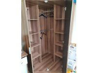 Corner wardrobe in England | Bedroom Wardrobes, Shelving