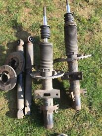 VW T5 springs and suspension