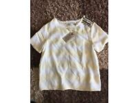 All Saints Women's Top UK 10 - New with tags
