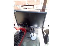 "PC Monitor 17"" emachines with free accessories £5"