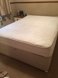 Double bed for sale, 3 years old, sleepmaster, good condition.
