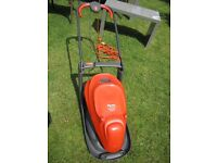 Flymo 330VX, 1400w, 33cm, only used twice £60.00