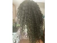 20 inch Brazillian beach wave with 4×4 closure