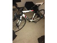 Cinelli Mens Road Bike (Carbon Forks and Seatpost)