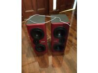 Large Tannoy Reveal X Studio Speakers