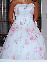 Robe de mariee ou de bal / elegant wedding evening or prom dress