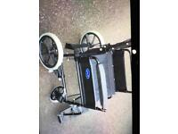 Wheelchair lightweight folding