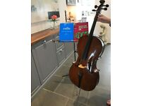 Cello for sale, 3/4 size Stentor Student II in very good condition, one owner from new.
