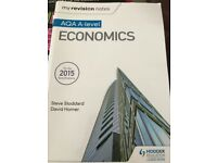 AQA A Level economics revision book