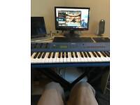 Yamaha cs1x synthesizer