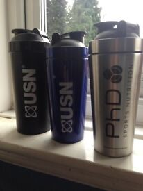 USN/PhD protein gym pre workout shaker bottle. Brand new