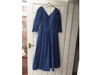 Vintage Laura Ashley dress 1980's size 12