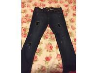 Super Skinny Rip Jean