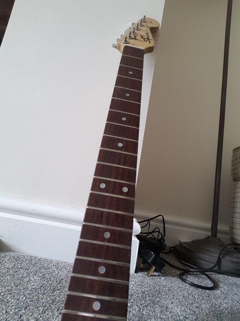 Guitar neck fender squier
