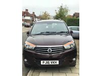 Ssangyong turismo 2016, 12,400moles only