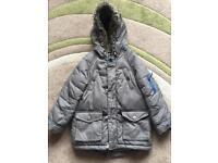 Boys Grey Coat