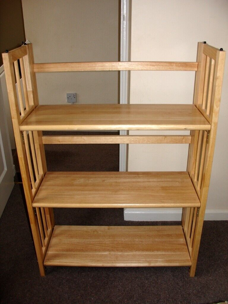 Pleasing Be Furniture 3 Tier Stacking Wooden Folding Bookshelf Book Case Book Shelves Bookshelves In Stafford Staffordshire Gumtree Home Interior And Landscaping Dextoversignezvosmurscom