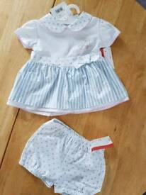 3-6 months baby girls romper suit