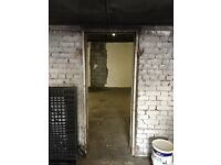 Large double garage to rent