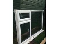Free double glazed window