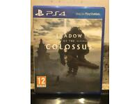 PS4 Game Shadow of the colossus