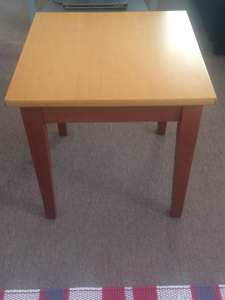 Rosewood side coffee tables x2