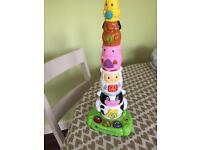 Vtech Stack and Discover Animals baby toy