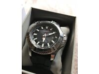 Seiko Stainless Steel Solar Divers Watch 200m