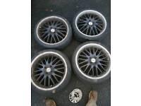 18 inch alloys dotz 4x100 Renault ford Peugeot