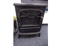 SMALL BLACK ELECTRIC FIRE