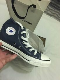 Converse Navy Blue Size 4