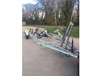 Rapide 3500kg 27foot boat trailer