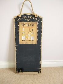 Wine Chalk Board
