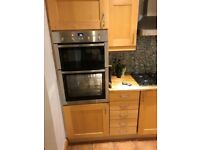 Beach Shaker Style Kitchen Units (Used) with Franke sink and 2 appliances