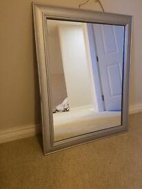 Silver Mirror Good Condition £5
