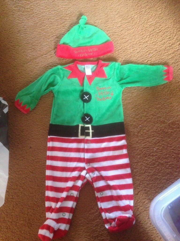 3-6 months Christmas outfit