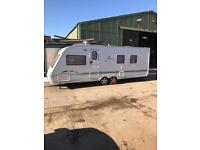 Swift conqueror twin axel fixed bed