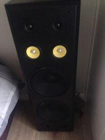 Intimidation speakers