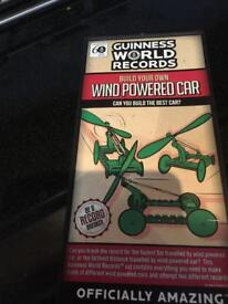 New - Guinness World Records - Build your own Wind Powered Car