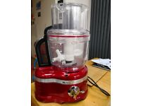 KitchenAid Artisan 4L Food Processor, Candy Apple***Great Condition, hardly used***