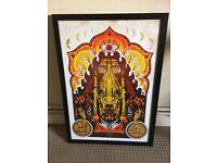 Goat limited edition screen print Adam Pobiak signed numbered framed electric ballroom music