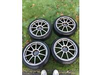 "17"" Rota Force Alloy Wheels and Tires"