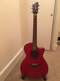 Tanglewood Acoustic Guitar and Stand