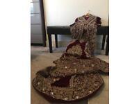 Indian Women's Bridal Dress - Size UK 6