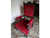 Vintage Lounge/parlor chair FREE