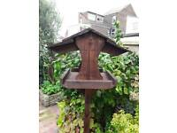 Bird table hand crafted free standing