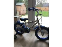 Halfords Police Bike 14 inch wheels