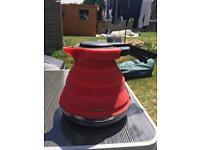 Folding kettle