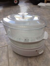 Brand new electric 3 tier steamer